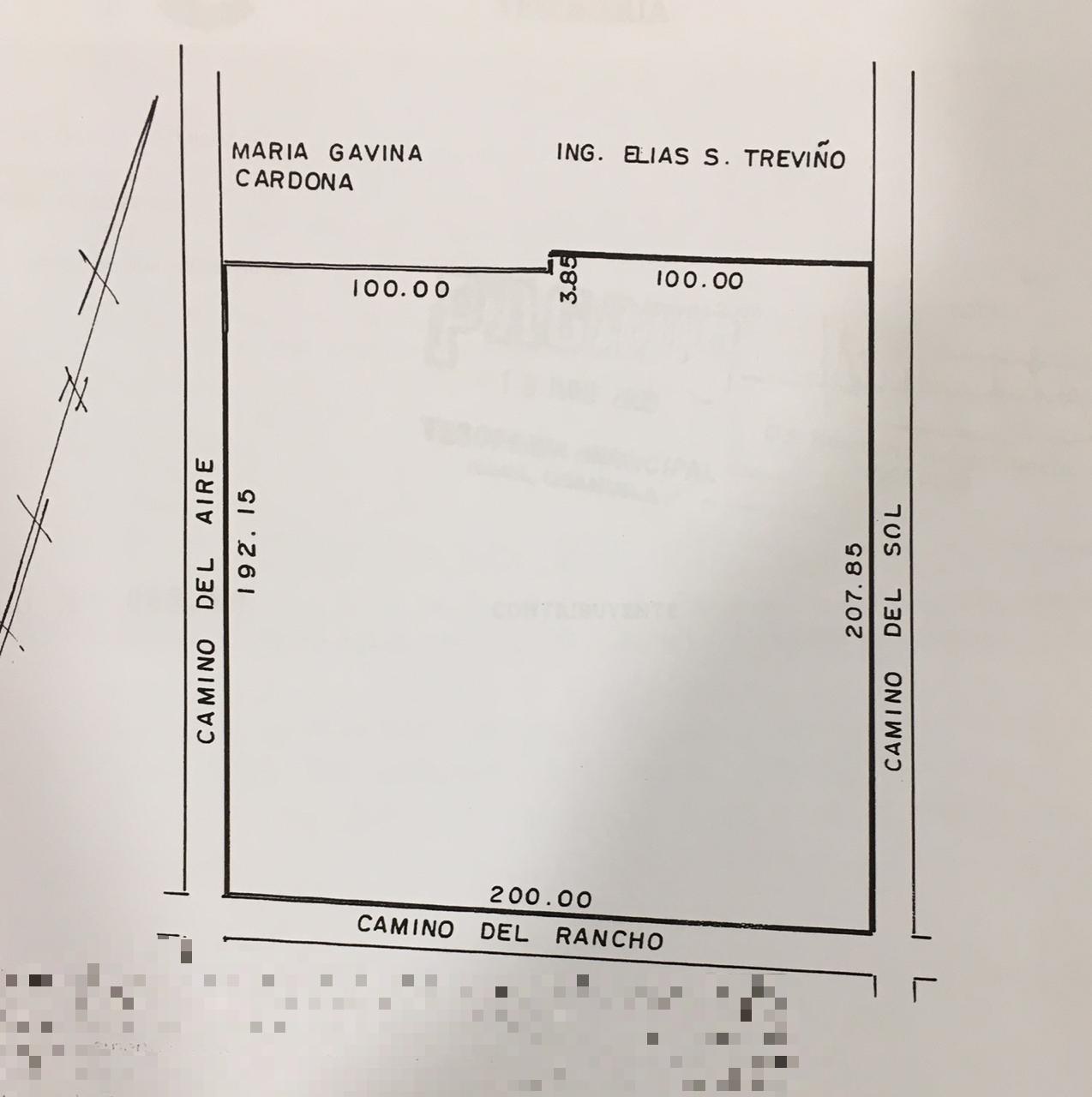Venta de terreno en Calle. Camino del sol esquina con camino del rancho colonia Granjas las Villas en Nava, Coahuila (VT #191/18)