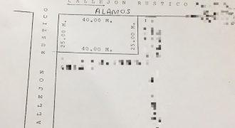 Venta de terreno Rustico Col. Jardines en el Lote 4 Manzana 10 en Nava Coahuila (VT #135/18)