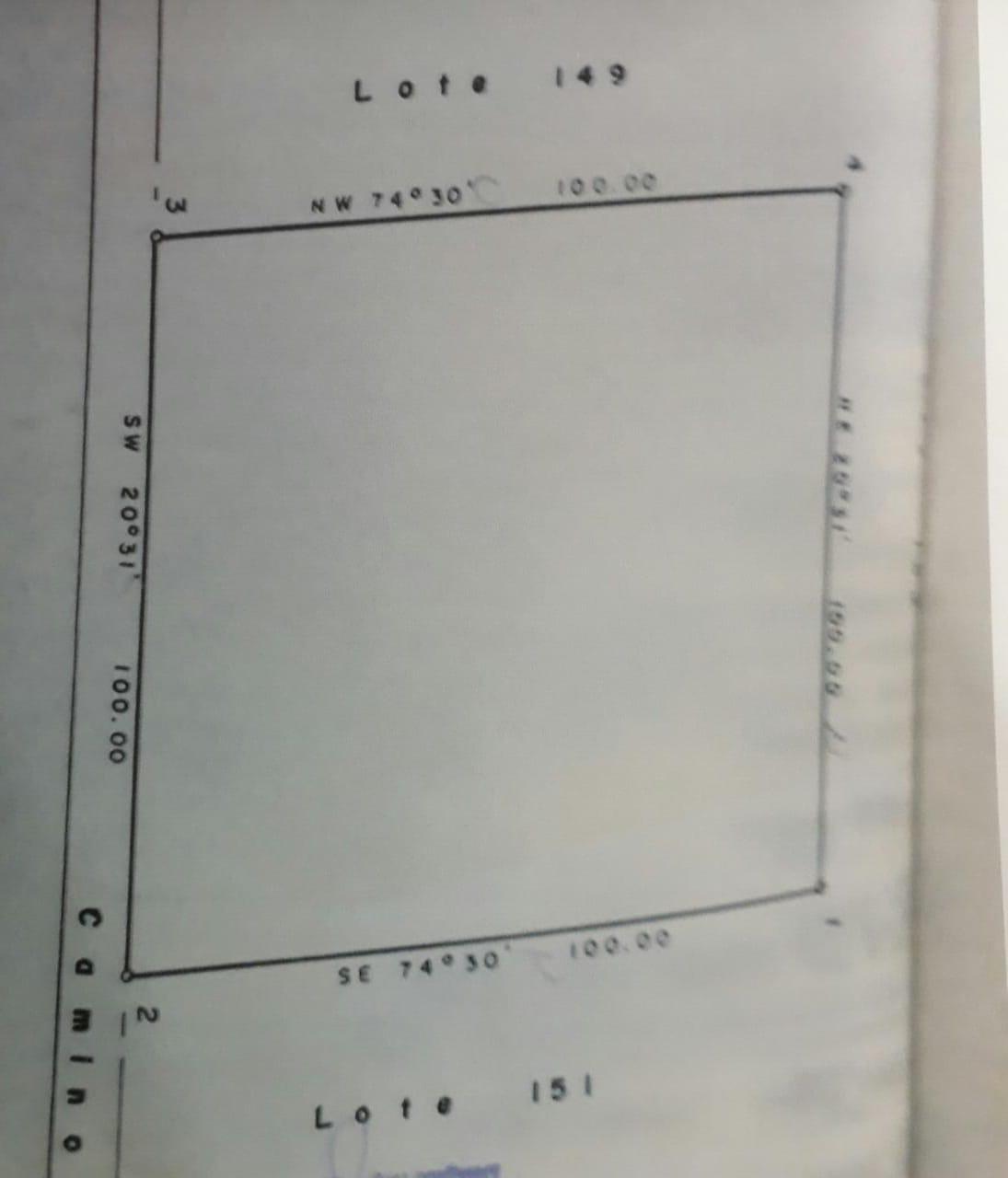Se vende terreno rústico ubicado en el Lote 150 Granjas Campestres Real del Alamito de Rio Escondido en Piedras Negras, Coahuila (VT #123/18)