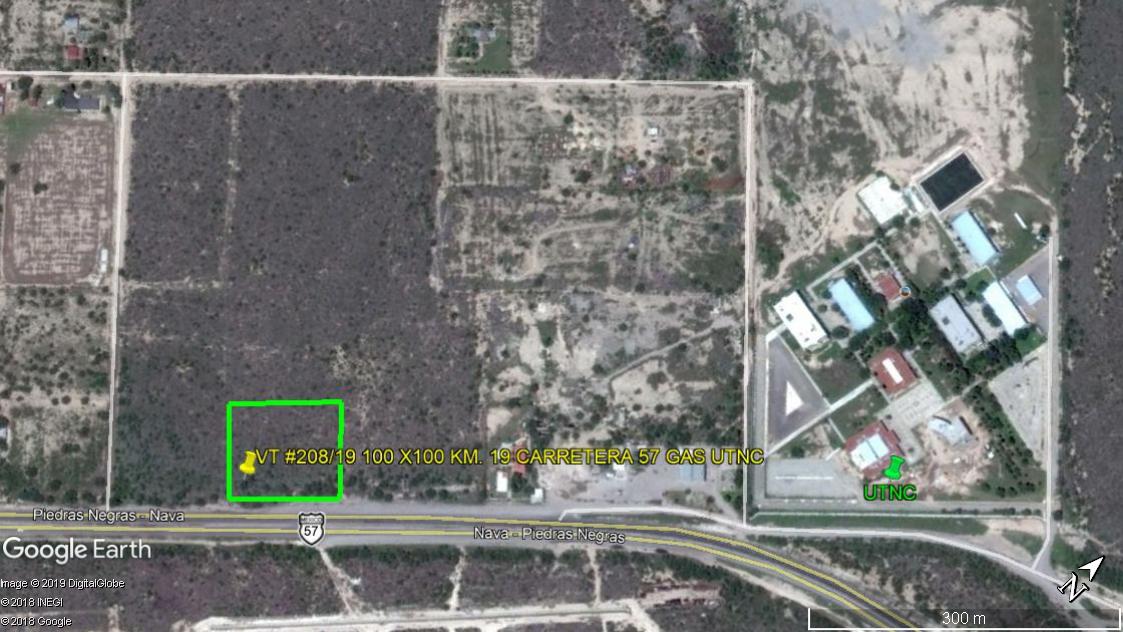 Venta terreno Rustico-Industrial, en carretera 57 km 19 (a un lado de la gasolinera de la UTNC (VT #208/19)