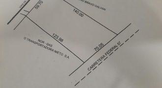 Renta Terreno Comercial, Ubicado en Vías de FFCC Y Carretera Federal 57 en Nava Coahuila (RT #16)