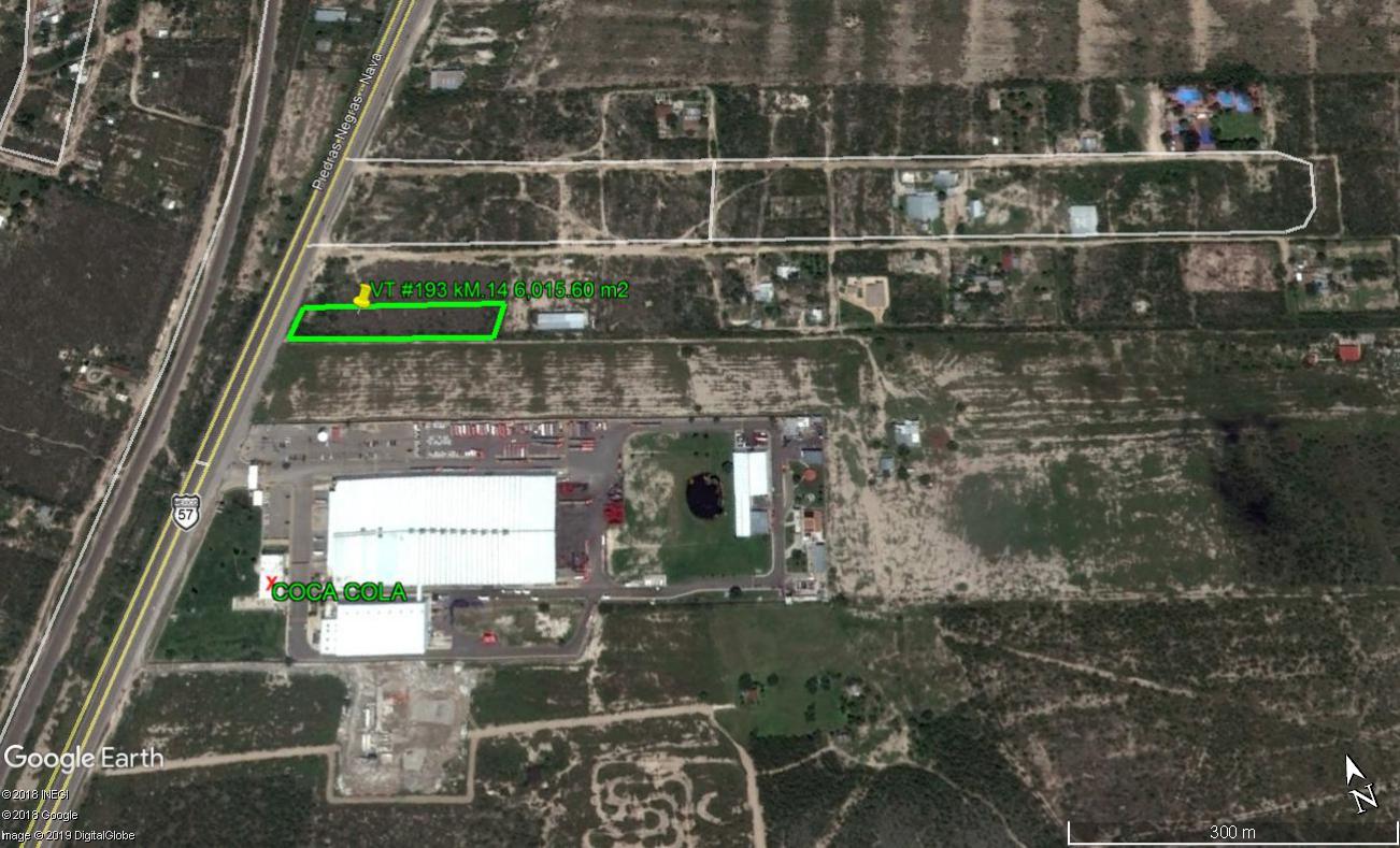 VENTA TERRENO COMERCIAL-INDUSTRIAL CARRETERA 57 KM 14 AUN LADO DE LA EMBOTELLADORA COCA-COLA (VT #193)