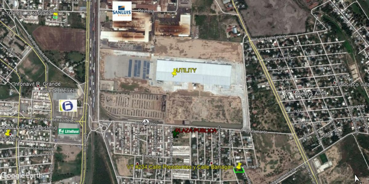 Venta terreno Urbano, Col. Presidentes, 1,254 m2 (VT #234)