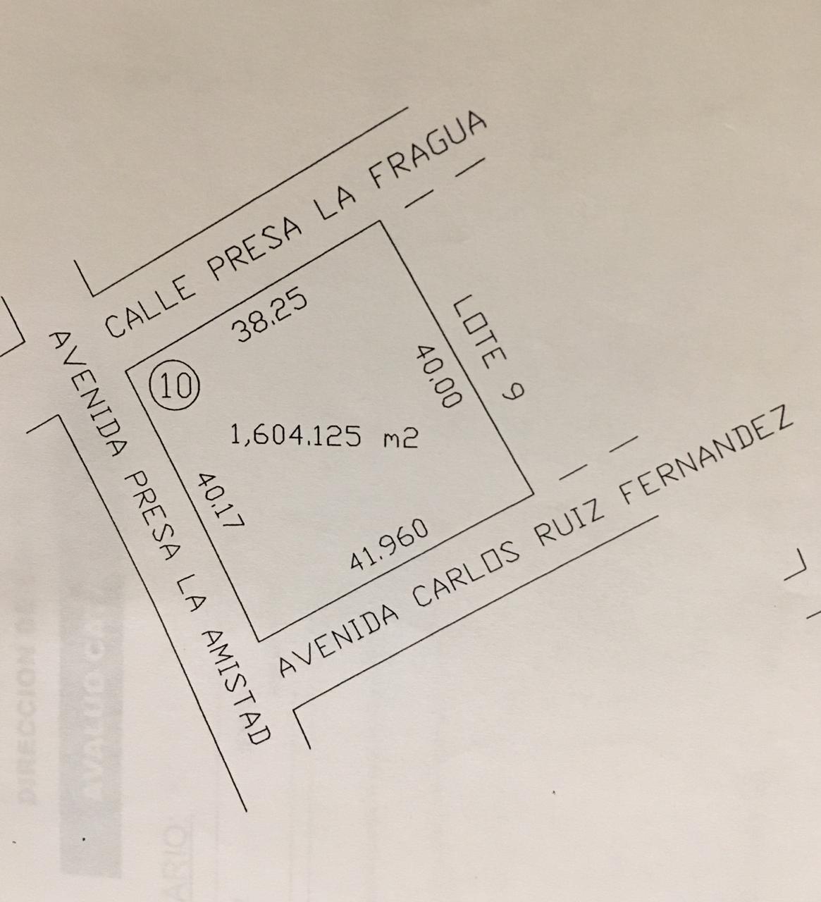 VENTA TERRENO Urbano o para Quinta, Fraccionamiento Campestre San Carlos (VT# 219/19)