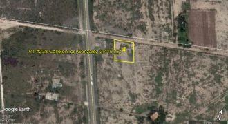 Venta de Terreno Rustico Carretera Piedras Negras-Nuevo Laredo km3 Callejón los González en Rancho Kiko Guerra (medidas irregulares) (VT #238)