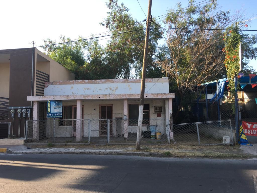 Venta terreno Comercial, calle Abasolo #306 Pte., 415.03 m2, col. centro Piedras Negras. (VT #185/18)