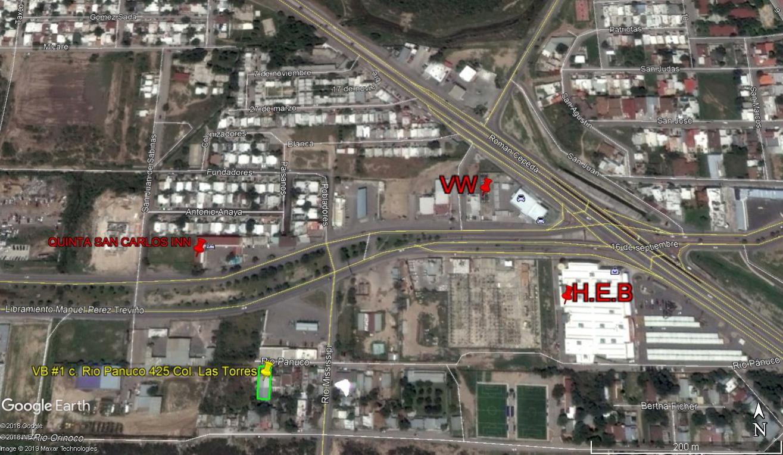 Vendo Bodega Calle Rio Pánuco #425, Col. Las Torres, Piedras Negras Coahuila. (VB #3)