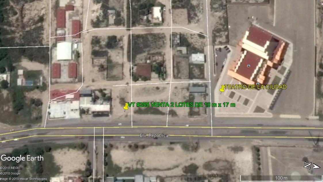 Venta Terreno Comercial, Blvd República Lotes 30 y 31 del Frac. República (VT #255)