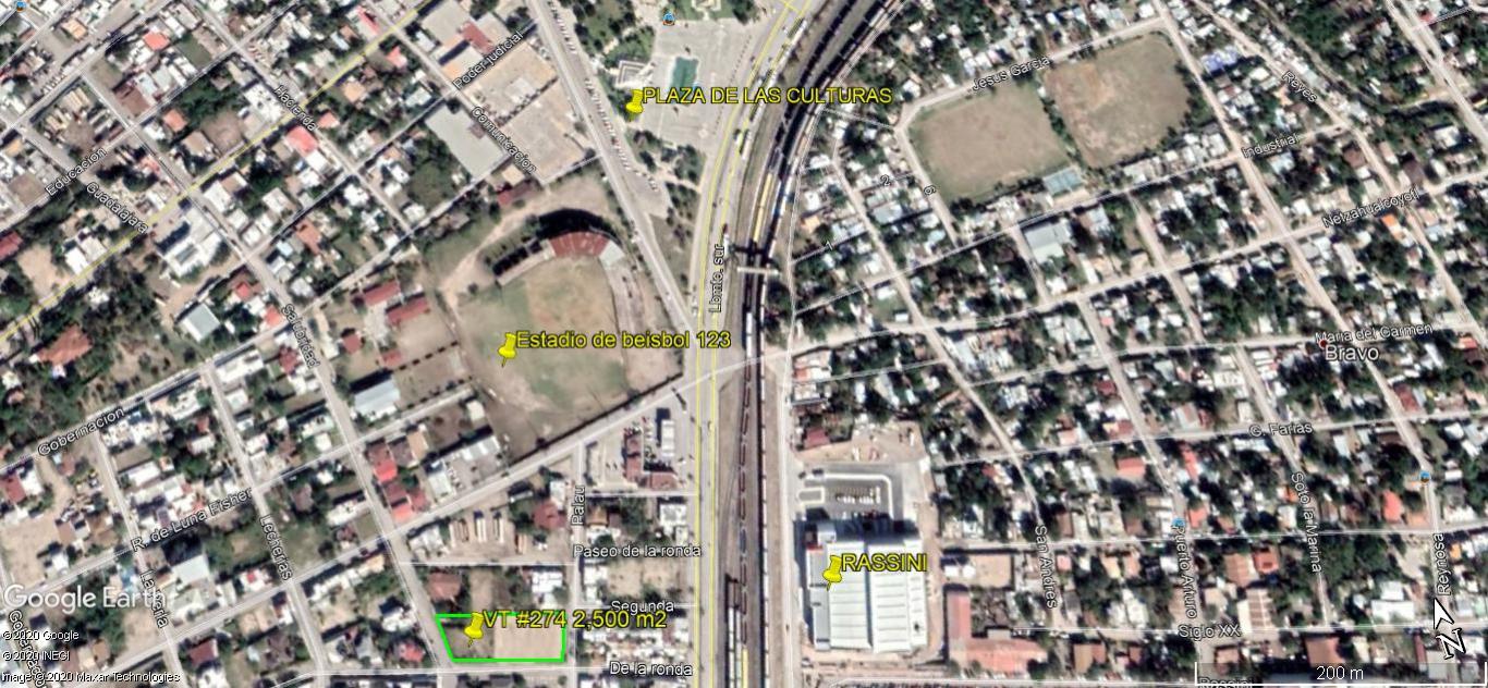 Se Vende Terreno Ideal para Departamentos, Oficinas, Calle Calzada de la Ronda. (VT #274)
