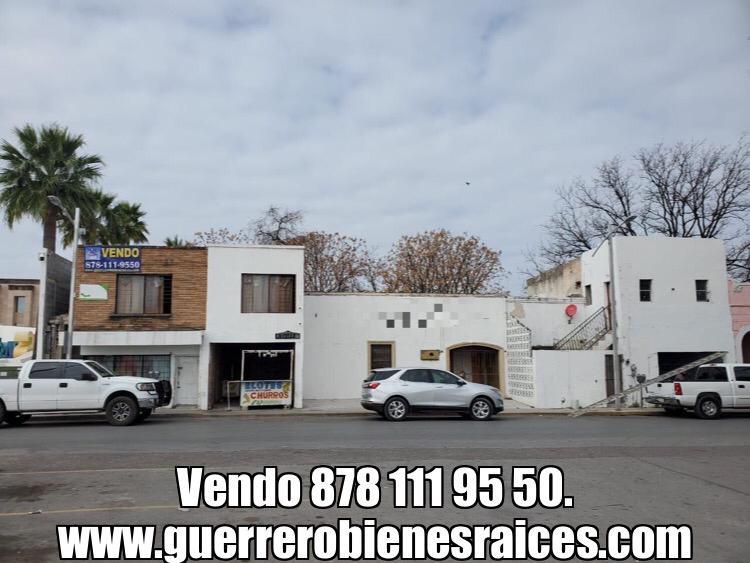 Venta de Propiedad, Calle Hidalgo, en el centro histórico de Piedras Negras.(VT #278)