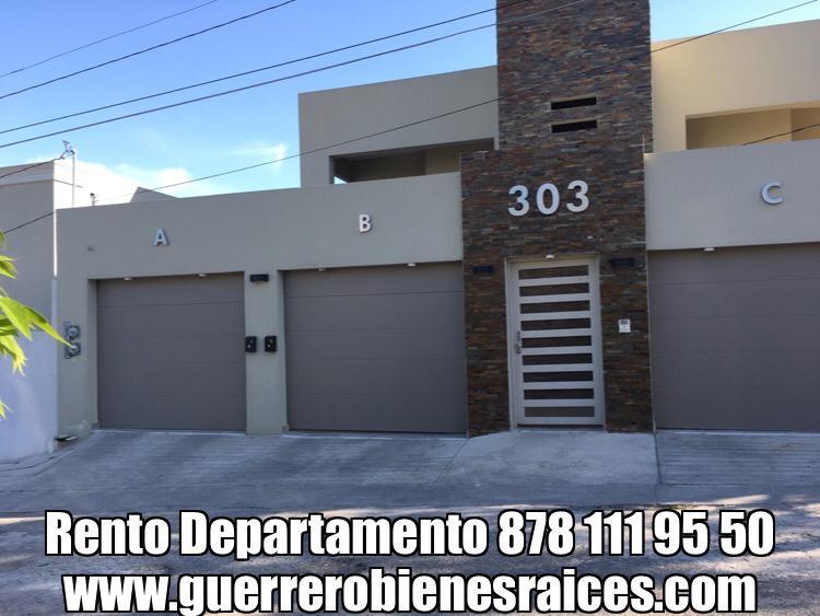 Renta Departamento, planta Alta, Calle Calzada de la Ronda #302 col. Harold R. Pape, Piedras Negras, Coahuila.(RD #20)