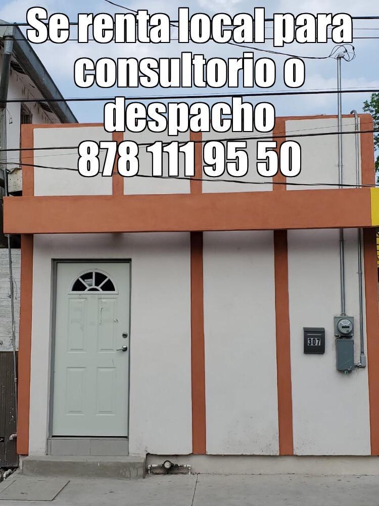 Rento Local para Oficina, Padre de las casas #307, zona Centro,Piedras Negras Coahuila (RL #23)
