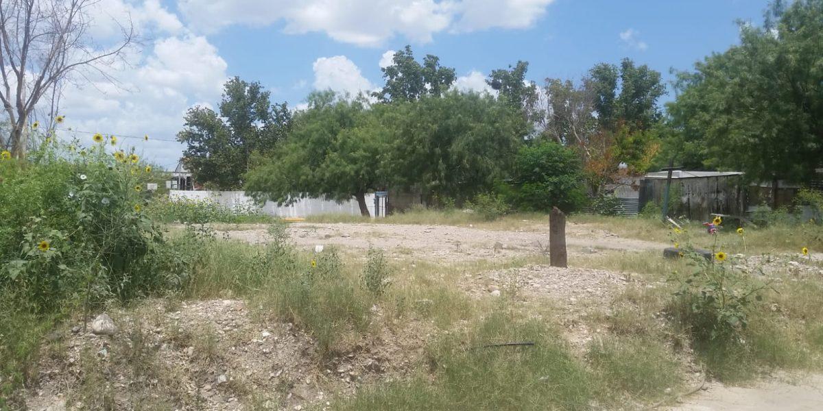 Venta de terreno residencial calle margarita meza tierra y esperanza