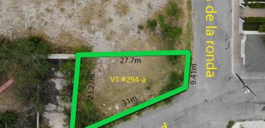 VT #294-a Se Vende Terreno Ideal para Departamentos, Oficinas, Calle Salubridad